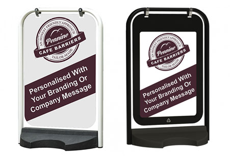 Cafe Barriers and Cafe Banners From Pennine Cafe Barriers - Aboards