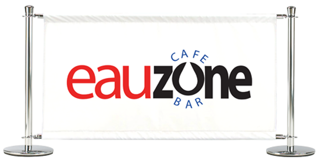 Cafe Barriers and Cafe Banners From Pennine Cafe Barriers How We Brand PVC Cafe Banners