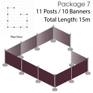 Cafe Barriers and Cafe Banners From Pennine Cafe Barriers - Cafe Barriers Premium Package 7