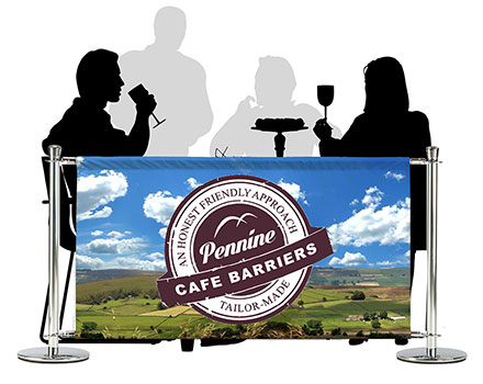 Cafe Barriers and Cafe Banners From Pennine Cafe Barriers - cafe-barriers-premium-pvc-banners-printed