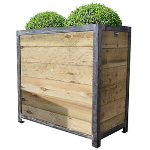 Cafe Barriers and Cafe Banners From Pennine Cafe Barriers Industrial Planters