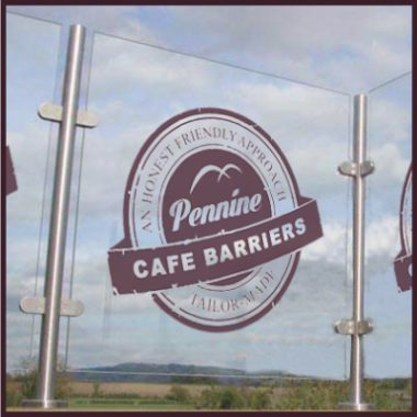 Cafe Barriers and Cafe Banners From Pennine Cafe Barriers - fixed screening-Category-sml
