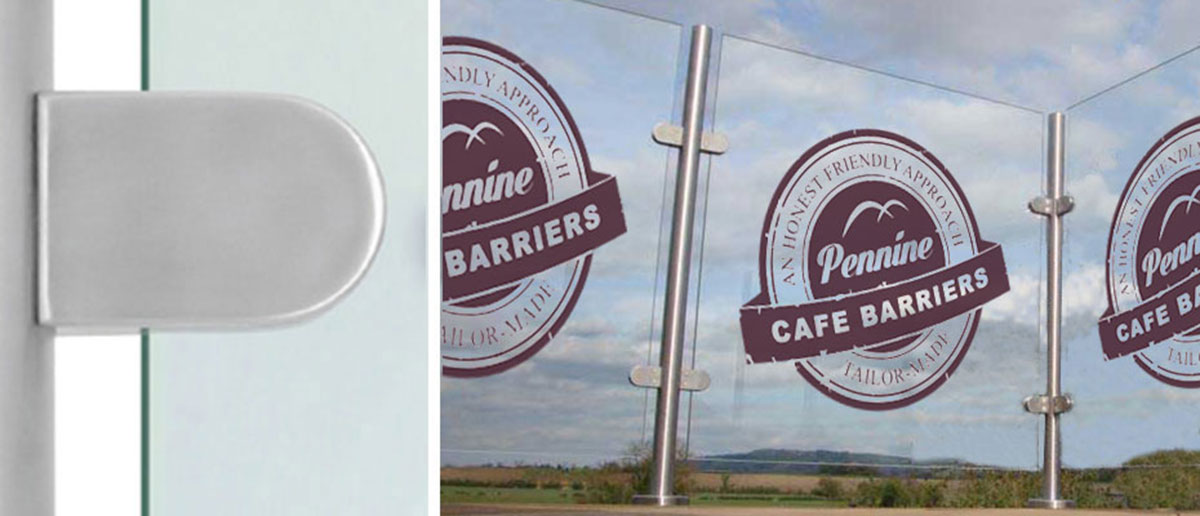 Cafe Barriers and Cafe Banners From Pennine Cafe Barriers Fixed Screens Installations