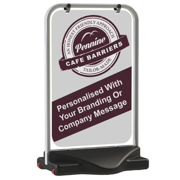 Cafe Barriers and Cafe Banners From Pennine Cafe Barriers - Pavement Signs